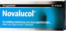 Novalucol Mot Halsbränna Tuggtabletter