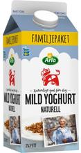 Mild yoghurt naturell 3%
