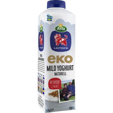 Laktosfri Mild Yoghurt Naturell 1,5%