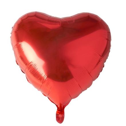 Folieballong hjärta Ø 45cm