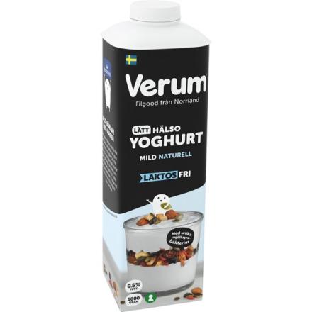 Hälsoyoghurt Laktosfri Mild Nat