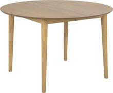 Oskar matbord förlängningsbart 120-170 cm - Ek fanèr