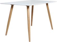 Paradis matbord 120x80 cm - Vit/Ek
