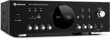 AMP-218 BT Digital surroundförstärkare 5.1 2x120W 3x50W RMS BT 2xmikro