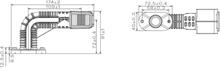 SLINGRELYGTE Superpoint IV LED Vinkel 90° Højre