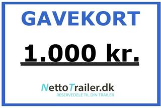 GAVEKORT 1000 KR