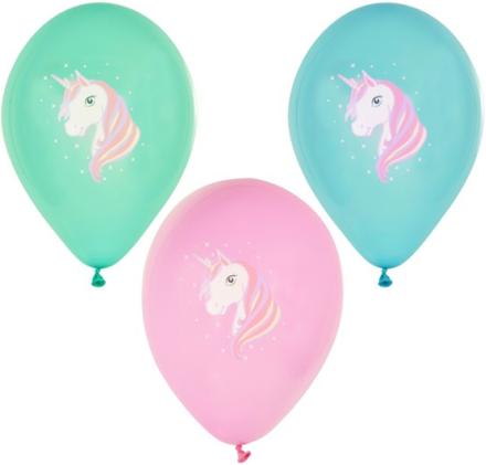 "Ballonger Ø 29cm olika färger ""Unicorn"