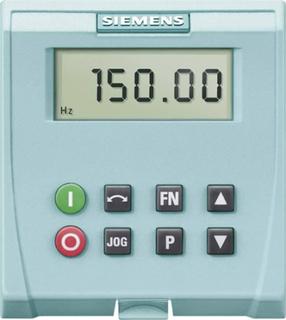 Siemens 6SL3255-0AA00-4BA1 Betjeningspanel Siemens Sinamics G110
