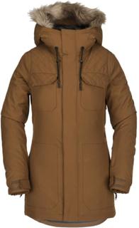 Volcom Women's Shadow Insulated Jacket Dame skijakker fôrede Brun XL