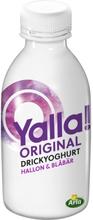 Yalla! Drickyoghurt Hallon & Blåbär Original