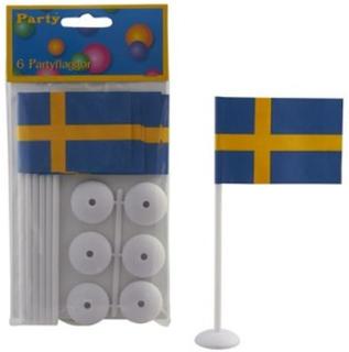 Bordsflagga med fot
