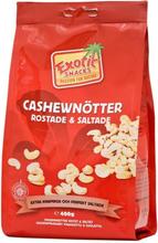 Cashewnötter Rostade & Saltade