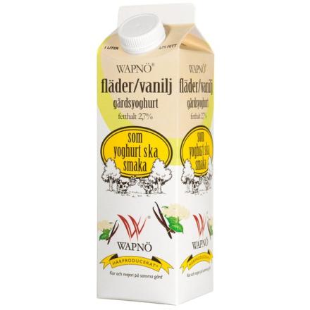 Yoghurt Fläder/ Vanilj