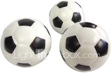 Mustavalkoinen kiinteää vaahtoa Elastinen Jalkapallo