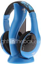 Hi-fi Stereo Langattomat Mukava kuulokkeet Blue