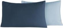 2 st Örngott DOZMARY Indigo/Azur (50x70 cm)