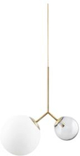 House Doctor - Twin Lamp - White/Grey (Gb0106)