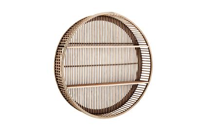 EMPIRE Hylla Oval Bambu | Förvaringsmöbler