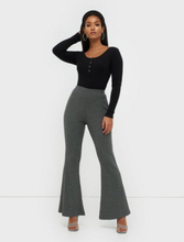 Missguided Rib Flare Trouser