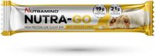 Nutramino Nutra-go proteinbar white chocolate lemon 64 g (1 stk)
