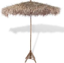 vidaXL Bambu Aurinkovarjo 270 cm Banaanilehti Katolla