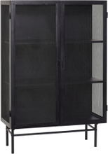 SVEA Skåp Svart 100cm | Förvaringsmöbler