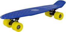 [pro.tec] Mini skeittilauta - sininen keltaisilla pyörillä