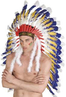 Indian huvudbonad - vuxen One-size
