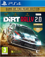Dirt Rally 2.0 - Game of the Year Edition - Sony PlayStation 4 - Racing