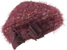 Hatt dekorativ rosett från Peter Hahn röd