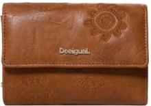 9b0d41f67a Desigual - unisex - Portafoglio cammello con mandala - Alba| Desigual.com -  MONE