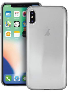 Puro 0.3 Nude iPhone XS Max TPU Cover - Gennemsigtig
