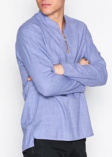 Eton Grn 23/pop,ls Skjortor Blue