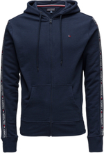 Hoody Ls Hwk Night & Loungewear Hoodies Blå Tommy Hilfiger