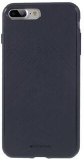 MERCURY GOOSPERY Style Lux Textured TPU Flexible Case for iPhone 8 Plus / 7 Plus