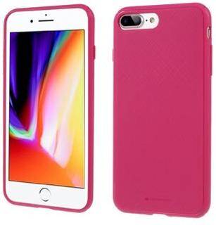 MERCURY GOOSPERY Style Lux Textured Soft TPU Case for iPhone 8 Plus / 7 Plus