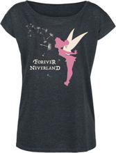 Peter Pan - Tinker Bell -T-skjorte - gråmelert