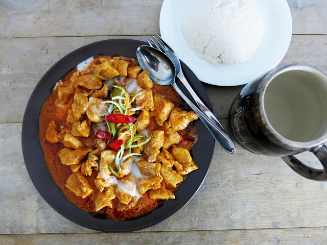 panang curry kana