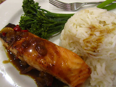 hairy dieters chilli ginger salmon