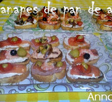 canapes de salmon y philadelphia