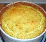 souffle de verduras light