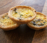 quiche in muffinvorm