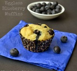 blueberry yogurt muffins eggless