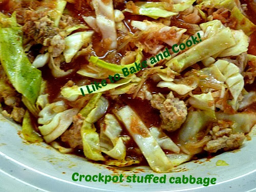 stuffed cabbage casserole with sauerkraut