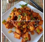 how to make bread manchurian