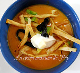 ingredientes de sopa purepecha