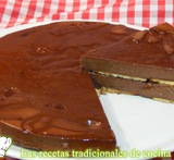 tarta de chocolate con galletas facil
