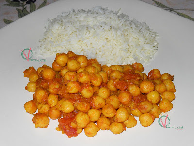 garbanzos con seco de res