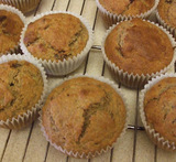 wholemeal muffins no sugar