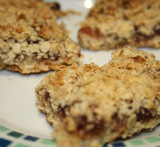 ground almond flapjacks